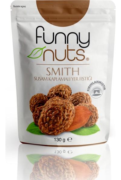 Funnynuts Susam Kaplamalı Yer Fıstığı 5'li - 130 gr