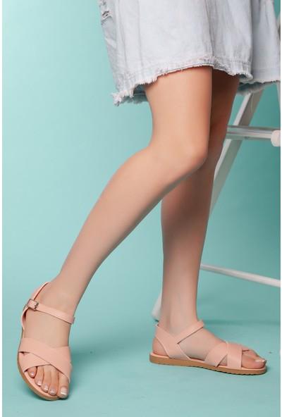 Muggo SNDT01 Kadın Sandalet