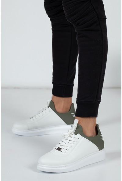 Muggo WGN004 Erkek Bağcıklı Sneaker Ayakkabı