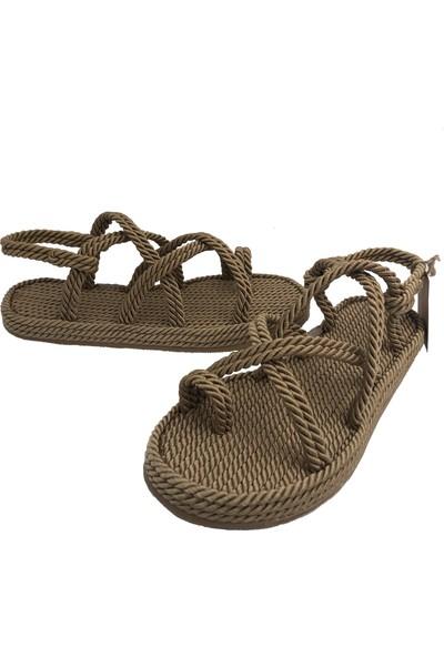 Pino Casual Mamas Halat İp Sandalet