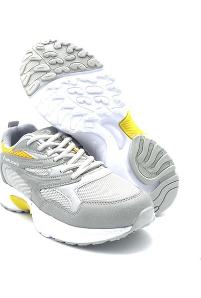 Conpax 1853 Buz-Sarı Erkek Günlük Ayakkabı