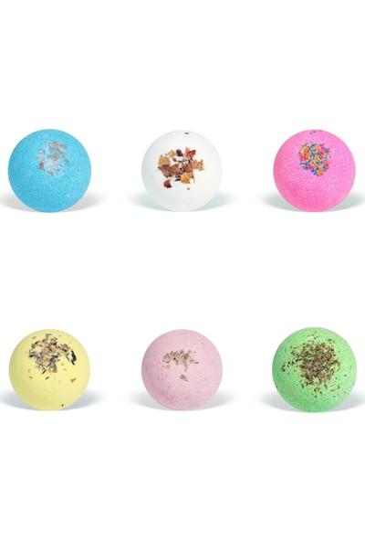 Suds Enjoy 6 Adet Banyo Topu Doğal El Yapımı Banyo Bombası