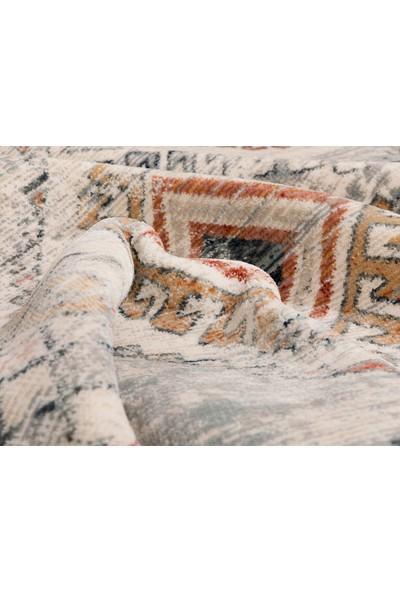 English Home Patch Dokuma Halı 120x180 Cm Gri