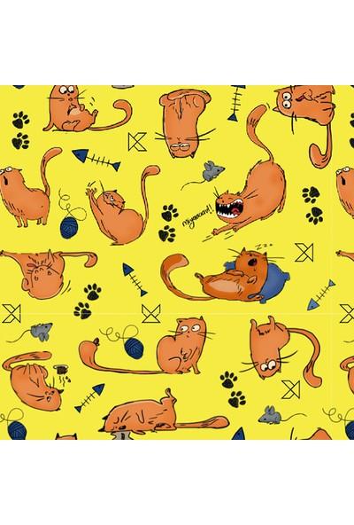 Kagito Kitty Cat Hediye Kağıdı 10'lu