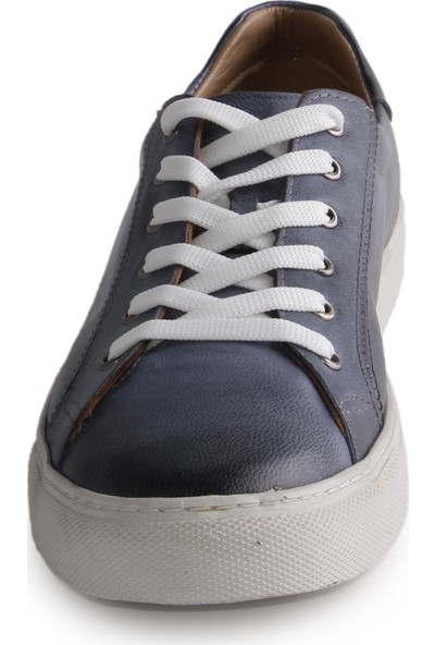 Dericlub Milano Gerçek Deri Erkek Ayakkabı Mavi