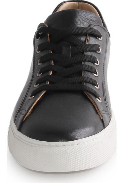 Dericlub Milano Gerçek Deri Erkek Ayakkabı Siyah