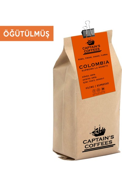 Captain's Coffees - Colombıa Supremo La Meseta