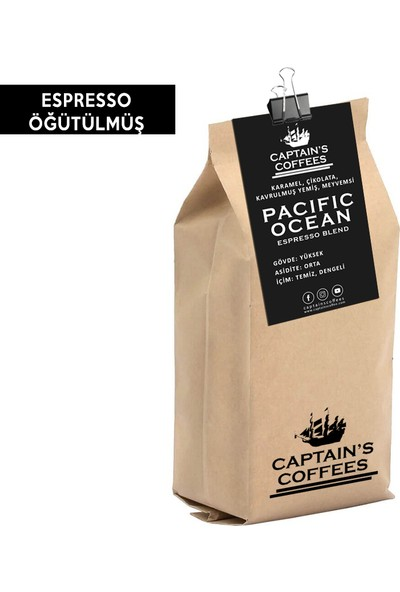 Captain's Coffees - Pacıfıc Ocean Fılter Blend