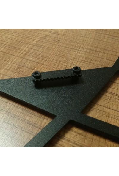 Dekorx Metal Tablo Kartal 50 x 26 cm