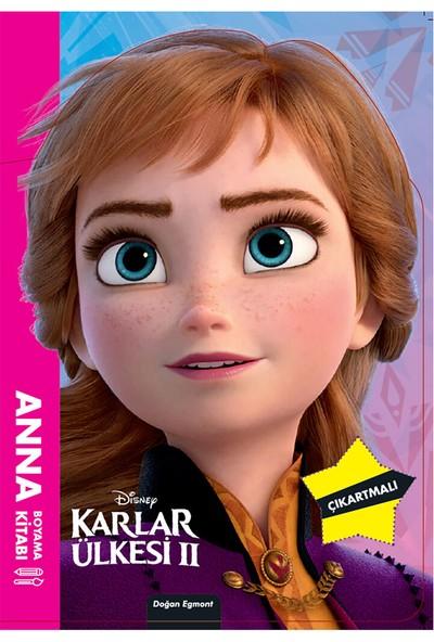 Disney Karlar Ülkesi 2 Anna Maskeli Boyama Kitabı