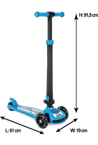 Pilsan Power Scooter (Mavi)