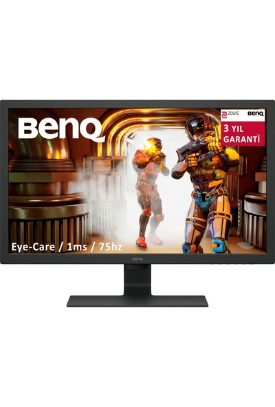 "BenQ GL2780 27"" 75Hz 1ms (HDMI+Display+DVI+Analog) Full HD TN Oyuncu MM Monitör"