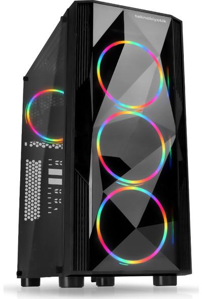 Teknobiyotik Intel Core i7 9700K 16GB 480GB SSD GTX1650 Super Freedos Masaüstü (DK-PC-HB-9900K)
