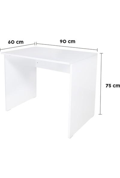 Alo Dolap Çalışma Masası - Uygun Ölçüde- Kullanışlı - Beyaz