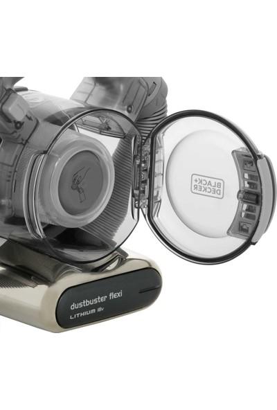 Black&Decker PD1820LF 18V/25Watt Li-ion Flexi Esnek Hortum Siklonik Sistem Şarjlı Süpürge