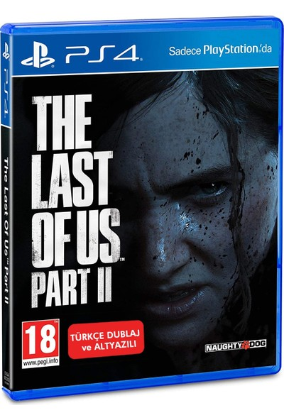 PS4 The Last of Us Part 2 TÜRKÇE Dublaj ve Altyazı