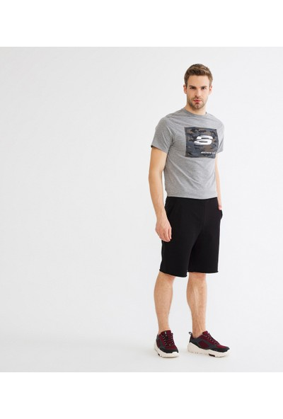 Skechers Lightweight Fleece M Rawedge Short Erkek Şort