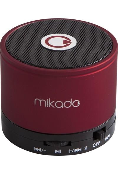 Mikado MD-14BT Şarjlı Speaker Kırmızı TF Kart Destekli Bluetooth