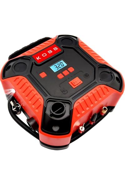 KOBB KB250 12Volt 160 PSI Dijital Basınç Göstergeli Lastik & Yatak Şişirme Pompası