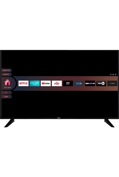 "Vestel 43U9402 43"" 108 Ekran Uydu Alıcılı 4K Ultra HD Smart LED TV"