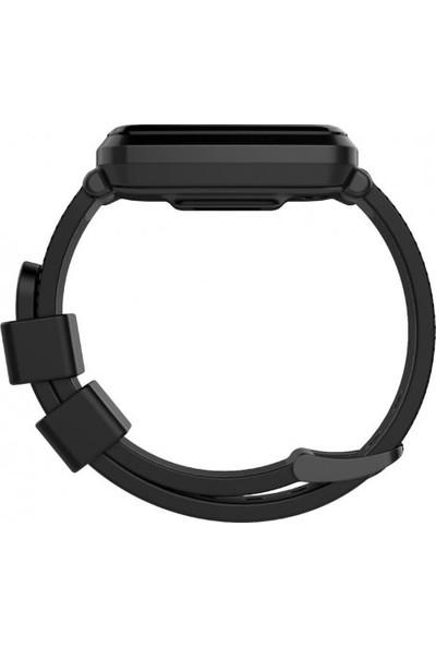 Lenovo HW25P Adımsayar Suya Dayanıklı Siyah Akıllı Saat