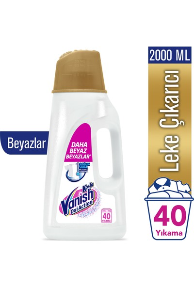 Vanish Kosla Leke Çıkarıcı Gold Sıvı Beyazlar İçin 2000 ml