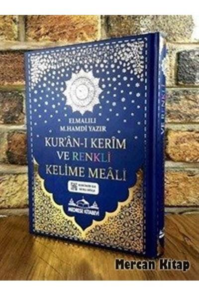 Kur'an-I Kerim Bilgisayar Hatlı Renkli Kelime Meali (Cami Boy) - Elmalılı Muhammed Hamdi Yazır