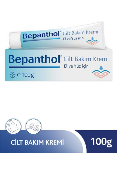 Bepanthol Cilt Bakım Kremi - 100 gr