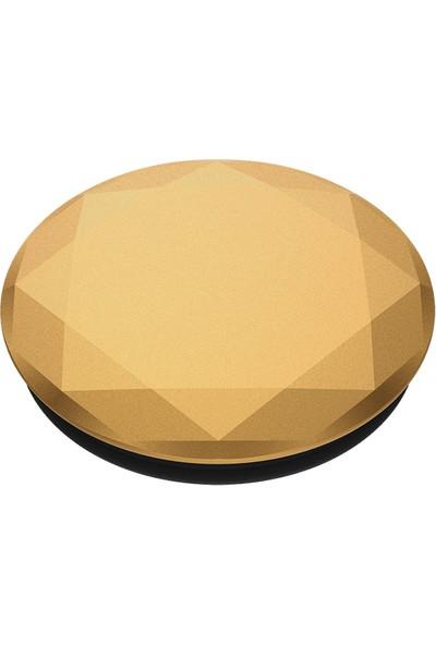 PopSockets Popgrip Met Dmd Medallion Gold Bk