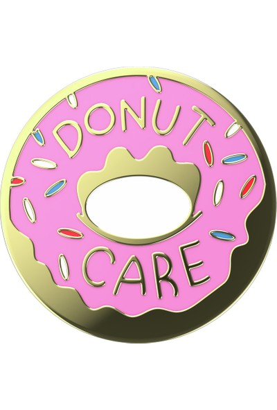 PopSockets Popgrip Enml Donut Pink Ow