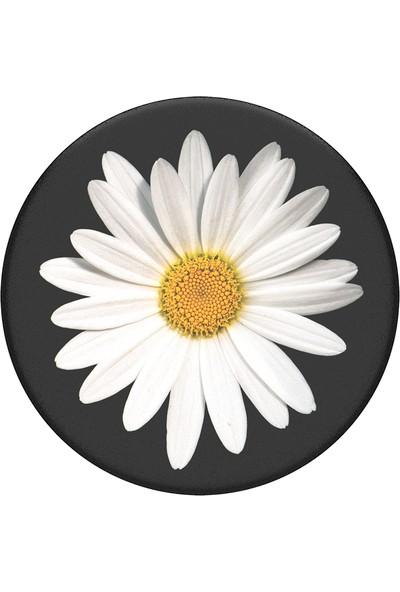 PopSockets Popgrip White Daisy Bk