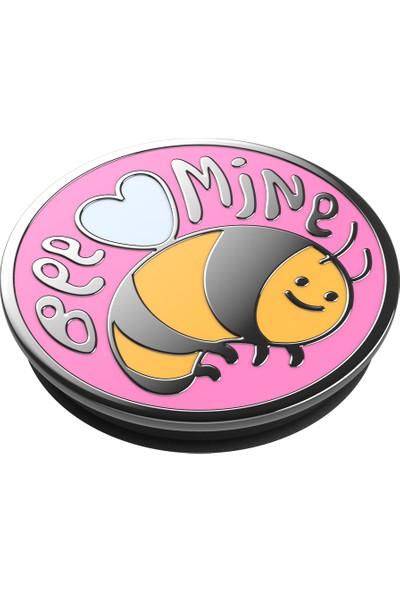 PopSockets Popgrip Enml Bee Mine Pink Bk