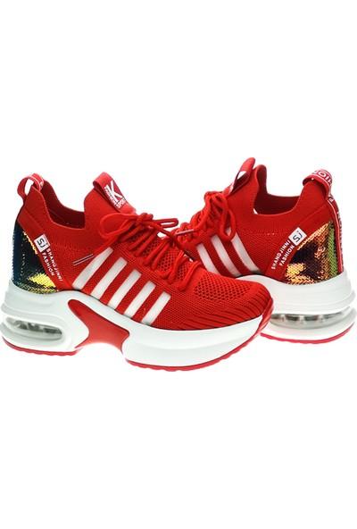 Guja 20Y308-Kırmızı Kadın Sneaker
