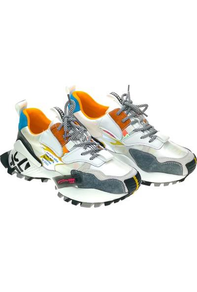 Guja 20Y3006-Beyaz Kadın Sneaker