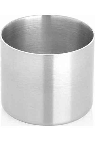 Özbir Paslanmaz Çelik Stick Şekerlik 7 cm (5'li Paket)