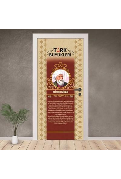 Hediyeci Dükkanım Ünlü Türk Büyükleri Kapı Giydirme 17