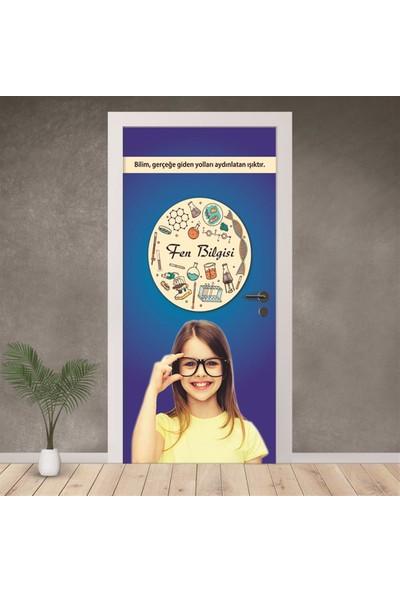 Hediyeci Dükkanım Fen Bilgisi Kapı Giydirme 03