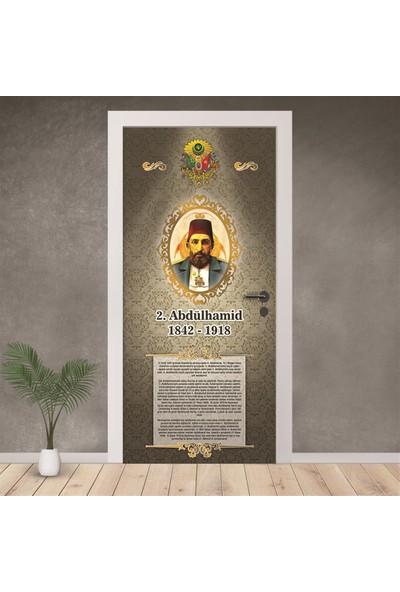 Hediyeci Dükkanım Osmanlı Padişahları Kapı Giydirme 38