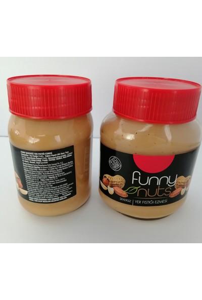 Funny Nuts Şekersiz Yer Fıstığı Ezmesi 3'lü - 960 gr