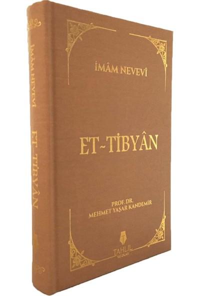 Et-Tibyân - Imam Nevevi
