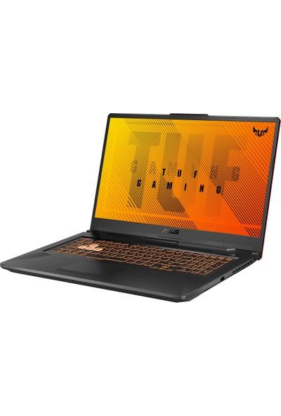 """Asus TUF Gaming A17 FA706IU-AU206 AMD Ryzen 7 4800H 16GB 1TB + 256GB SSD GTX1660Ti Freedos 17.3"""" FHD Taşınabilir Bilgisayar"""