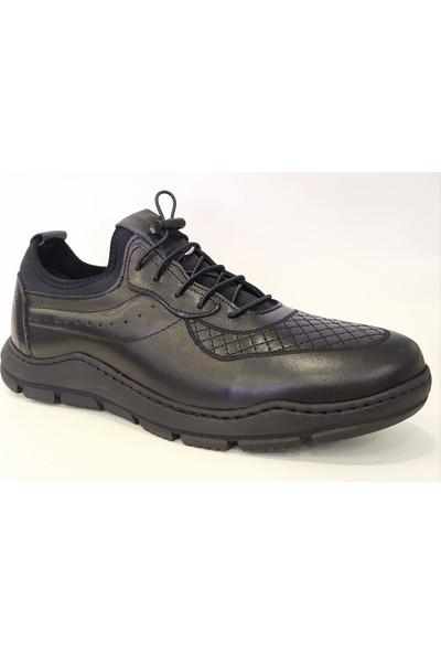 James Franco M5024 Deri Bağcıksız Günlük Erkek Ayakkabı