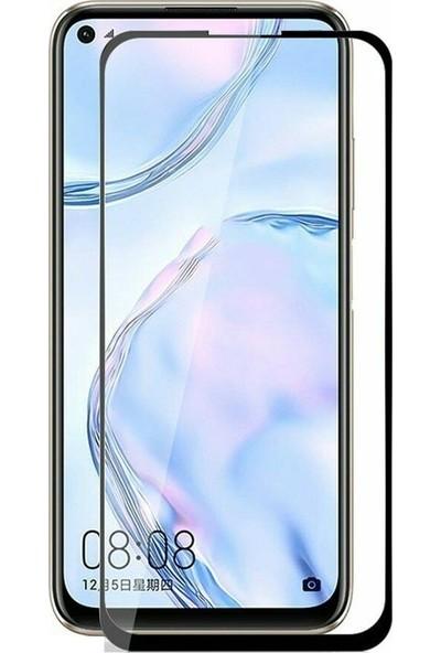 Tbkcase Huawei P40 Lite E Tam Kapatan Ekran Koruyucu Siyah