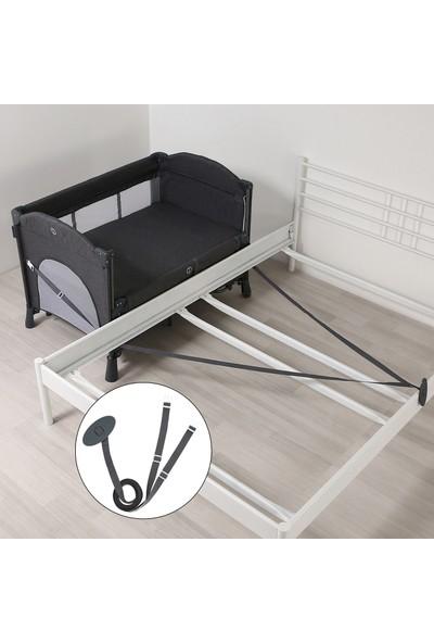 Yoyko Exclusive Comfort 8 in 1 Park Yatak Oyun Parkı Koyu Gri 70 x 110 cm
