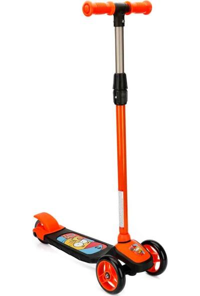 Sunman Kral Şakir 3 Tekerlekli Frenli Twistable Çocuk Scooter