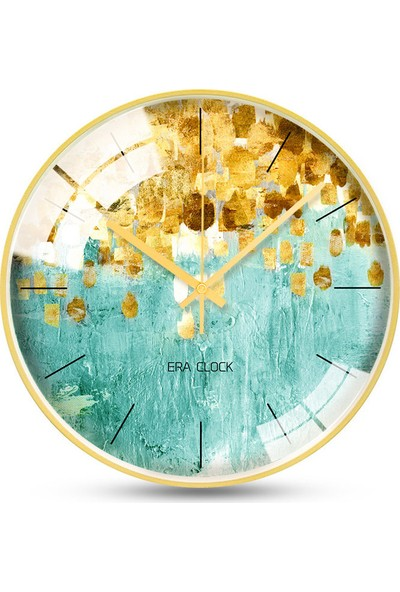Yukka Creative Gold Serisi Duvar Saatleri