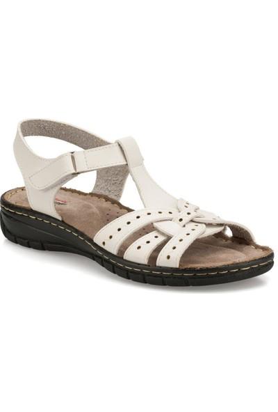 Polaris 158589 Beyaz Kadın Sandalet