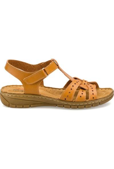 Polaris 158589 Camel Kadın Sandalet