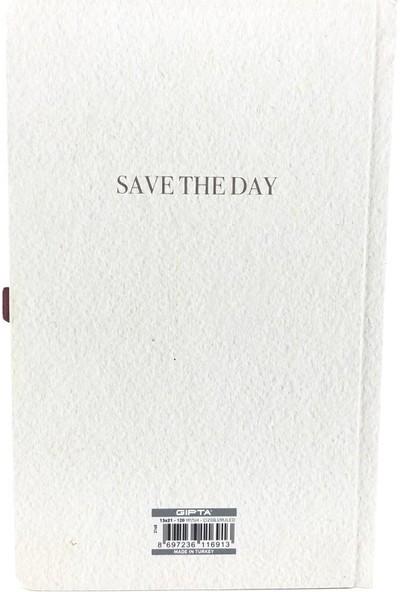 Gıpta Save The Day Sert Kapak 120 Yaprak Çizgili Notebooks 13 x 21 cm