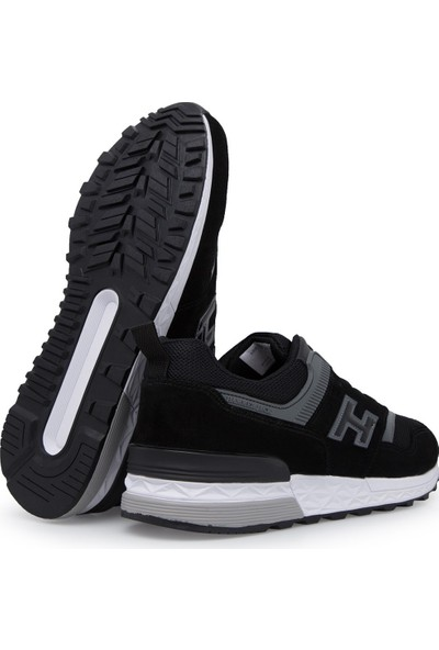 Hammer Jack Nubuk Deri Erkek Spor Ayakkabı 102 20340-M Padova Siyah/Black 10S040Padova